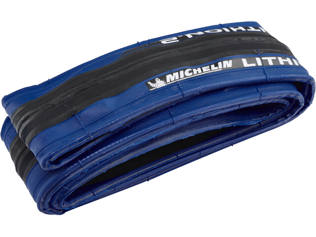 "Michelin Lithion2 Tyre 28"" folding, blue"